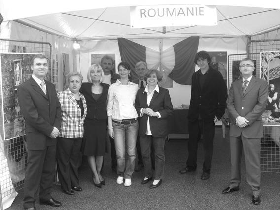 Rhone-Roumanie - Le stand de la Roumanie
