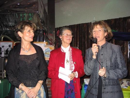 Rhône-Roumanie: Christine Ferré, Claude Chauvin, et Geneviève Hector, les fondatrices de l'Association