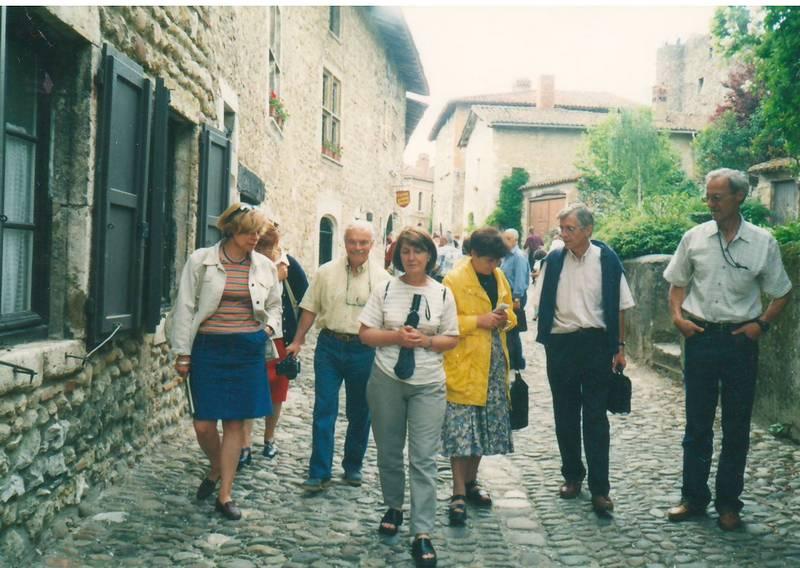 Rhone-Roumanie: Françoise Longre, Michel Lacroix, Jacqueline Bernard, Ana Novac, Jean-Pierre Longre, Michel Bernard